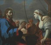 """""""CRISTO E LA SAMARITANA"""" di Mattia Preti alla Reggia di Venaria Reale"""