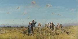 Di là del faro. Paesaggi e pittori siciliani dell'Ottocento