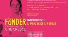 Il Bando dedicato alle organizzazioni culturali non profit composte da under 35