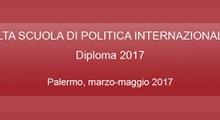 Alta Scuola di Politica Internazionale - Diploma 2017