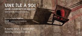 """Inaugurazione mostra """"Une île à soi"""" di Anne-Clémence de Grolée"""