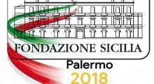 Palermo capitale della cultura 2018.  Palazzo Branciforte e Villa Zito illuminati con il tricolore