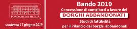 COMUNICAZIONE PROGETTO VINCITORE BANDO BORGHI ABBANDONATI