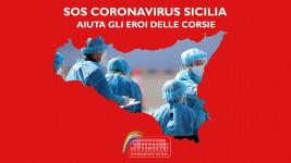 SOS Coronavirus Sicilia, acquistata in meno di 24 orel'opera di Domenico Pellegrino.