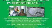 Noi crediamo in un futuro in cui a Palermo nessun povero pagherà più luce!