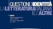 Torino - Salone del Libro 2009 - Questioni di identità. La Letteratura Italiana e le altre