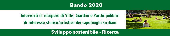 IL PROGETTO VINCITORE DEL BANDO 2020