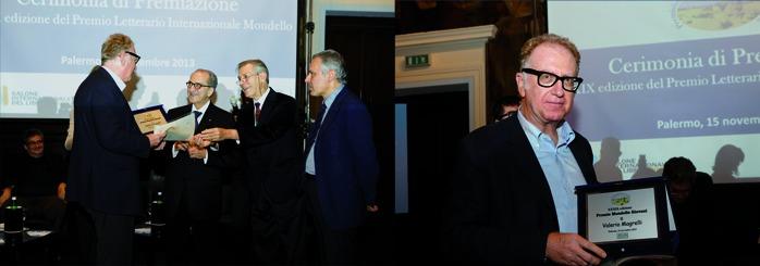 VALERIO MAGRELLI 'SUPER-PREMIATO' AL MONDELLO 2013