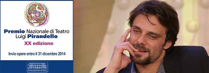 Alessandro Preziosi nella giuria del Premio Nazionale di Teatro Luigi Pirandello