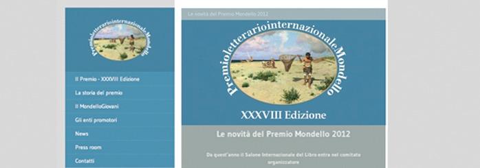 Il sito del Premio Letterario Internazionale Mondello